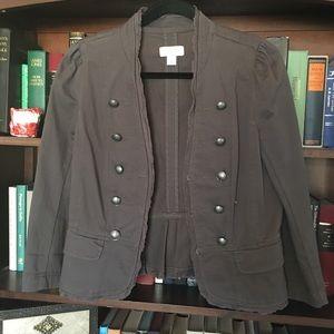 Ann Taylor Loft Brown Jacket